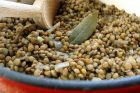 preparing dry lentils