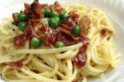20 minute meals—pasta carbonara