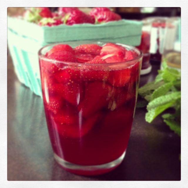 strawberry conserves