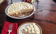 no-bake gingerbread cream pie