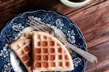 crispy vanilla waffles {dairy-free}