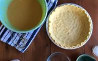 no-roll pie crust {video}