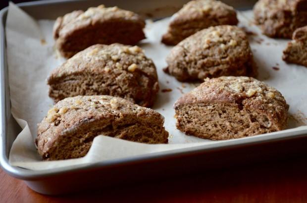 Gingerbread Scones| www.injennieskitchen.com