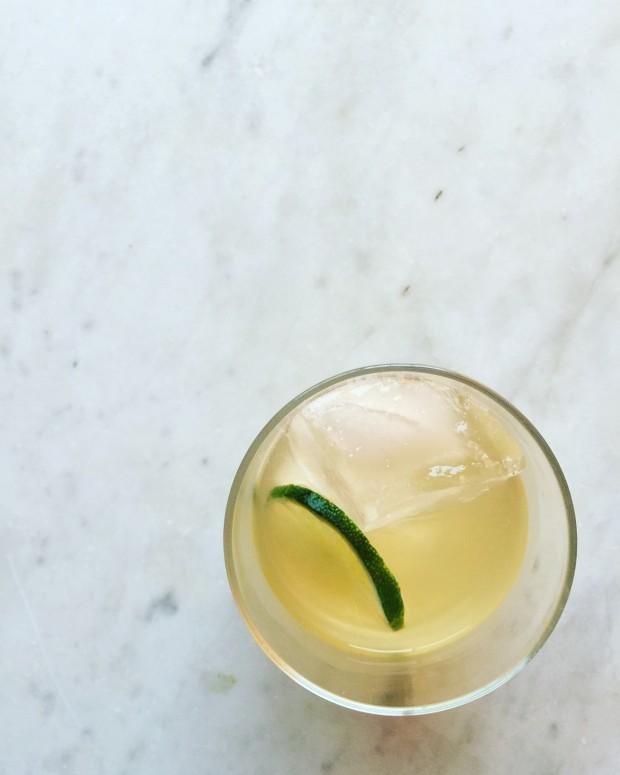 Sparkling Skinny Margarita