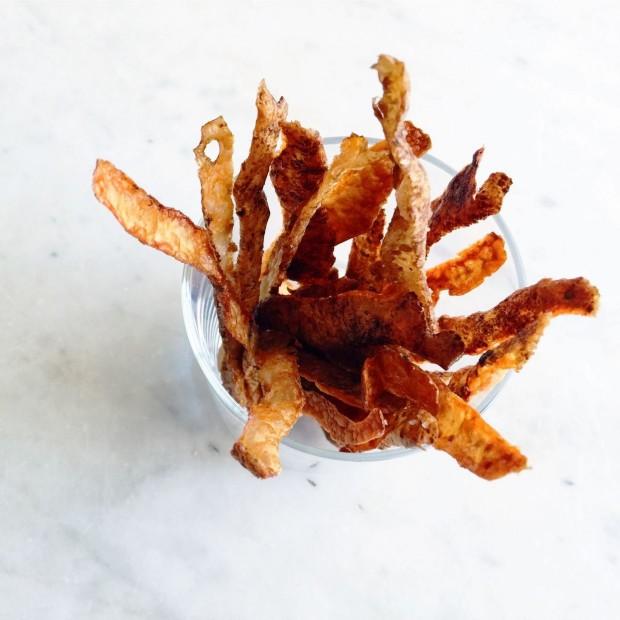 Potato Skin Straws