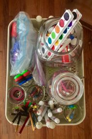 How to Organize Your Craft Supplies | In Jennie's Kitchen