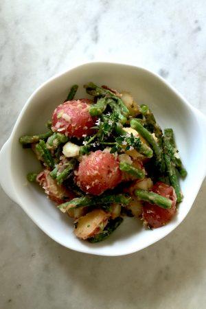 Italian String Bean & Potato Salad | In Jennie's Kitchen
