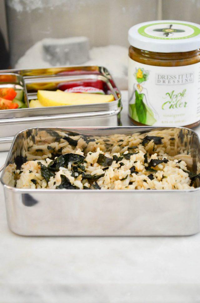 Kale Sushi Rice Bowls | In Jennie's Kitchen