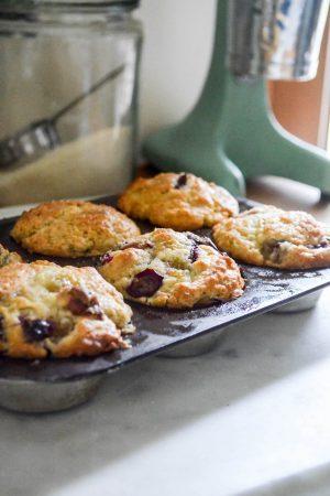 Concord Grape Muffins | In Jennie's Kitchen