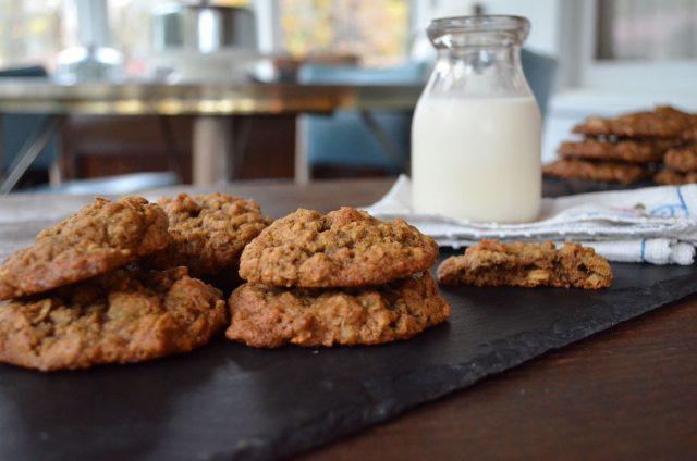 Chewy Oatmeal Walnut Allspice Cookies | In Jennie's Kitchen