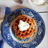 Pumpkin Pie Waffles | In Jennie's Kitchen