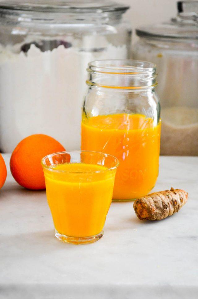 Citrus Ginger Turmeric Tonic | In Jennie's Kitchen