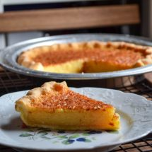 Lemon Honey Chess Pie