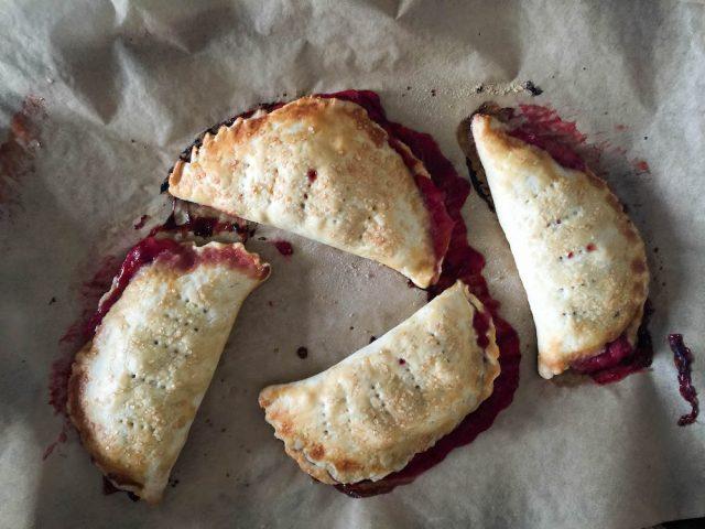 Strawberry Rhubarb Hand Pies | In Jennie's Kitchen