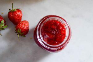 Strawberry Honey Rosemary Jam | In Jennie's Kitchen