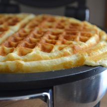 Sunday Best: Homemade Waffles
