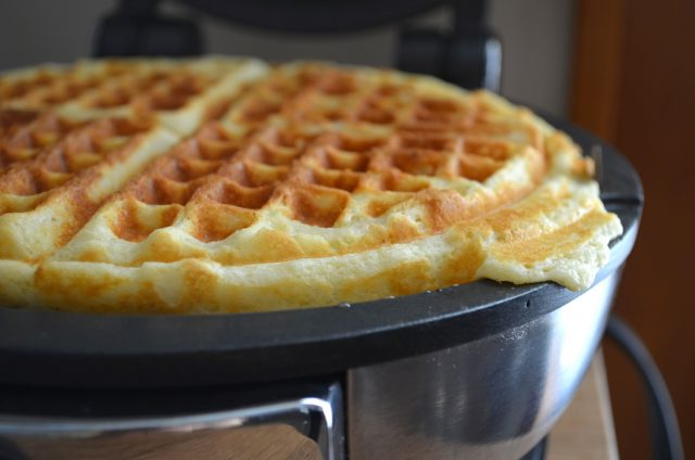 Sunday Best: Homemade Waffles | In Jennie's Kitchen