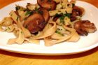 Fettucine with Sauteed Mushrooms