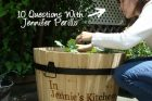 10 Questions with Jennifer Perillo at Gel's Kitchen Blog
