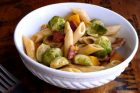 brown butter brussels sprouts & butternut squash