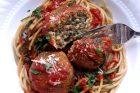 """lentil-ricotta """"meatballs"""""""