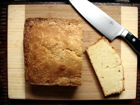 vanilla bean buttermilk pound cake - In Jennie's Kitchen