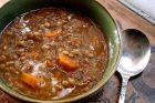 10 minute lentil soup + a pressure cooker how-to video