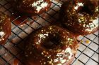 chocolate gingerbread doughnuts {day 130}