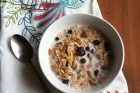 toasted vanilla bean muesli {day 149}
