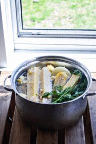 Homemade Corn Broth | In Jennie's Kitchen