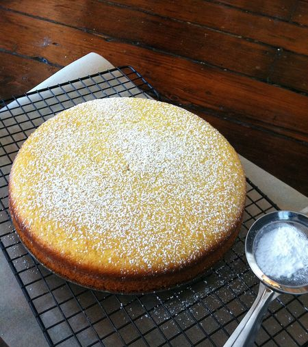 lemon olive oil cake {day 313} - In Jennie's Kitchen
