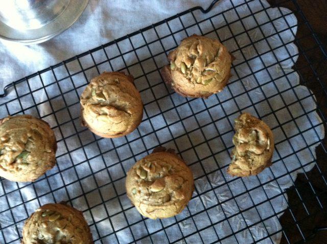 pumpkin seed cookies