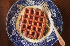 chocolate malted waffles