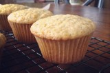 orange poppy olive oil muffins