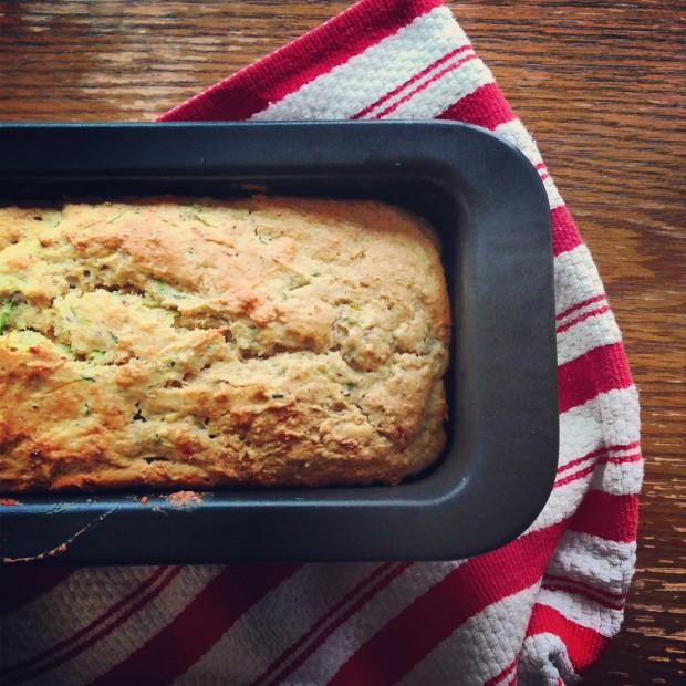 zucchini hazelnut bread