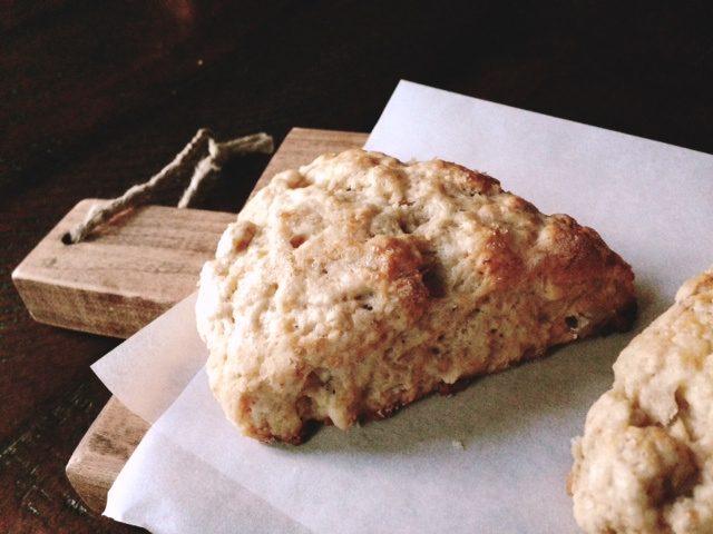 banana, walnut & white chocolate chunk scones - In Jennie ...