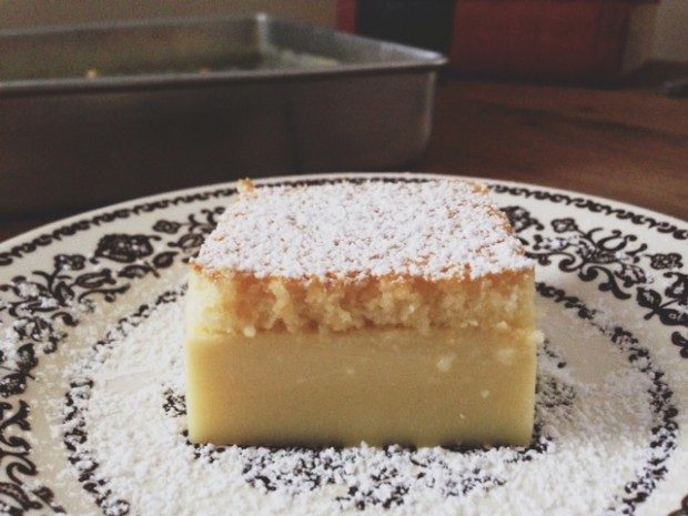 magic custard cake | In Jennie's Kitchen