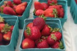 strawberries, finally!