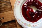 strawberry blood orange jam