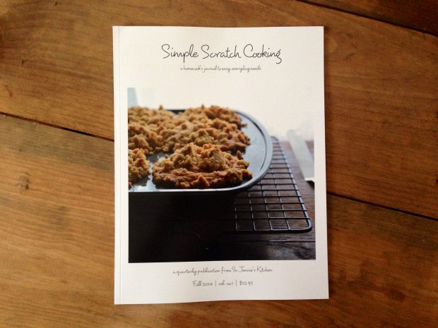 Simple Scratch Cooking Magazine | www.injennieskitchen.com