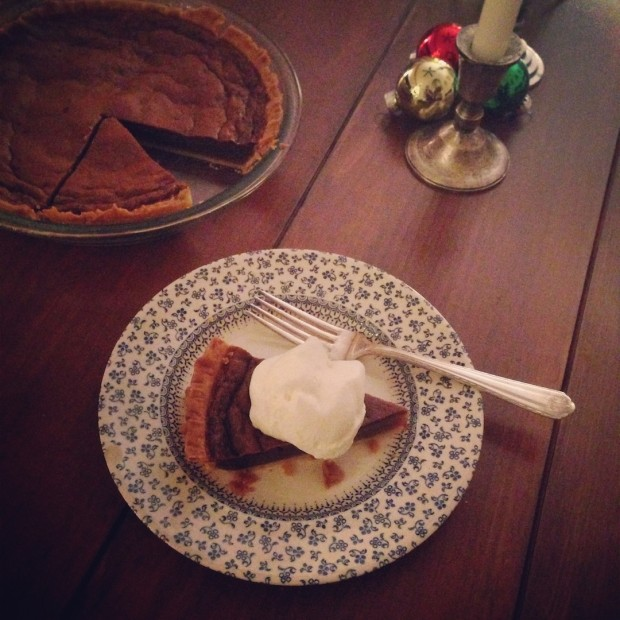 Gingerbread Chess Pie | www.injennieskitchen.com