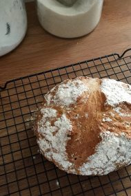 How to make Traditional Irish Soda Bread | www.injennieskitchen