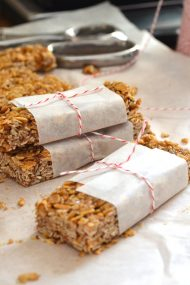 15-Minute Homemade Granola Bars | www.injennieskitchen.com