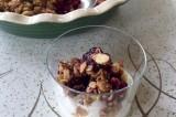 cherry crapshoot dessert {or mixed berry crisp}
