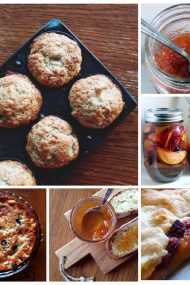 Six Ways to Savor Peaches | visit www.injennieskitchen for the recipes.