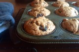 then & now {concord grape muffins, revisited}