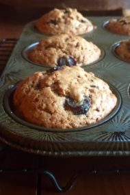Concord Grape Muffins | www.injennieskitchen.com