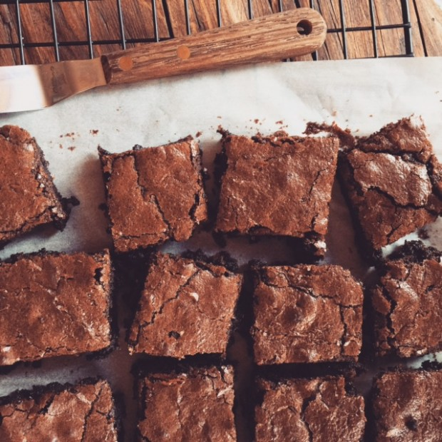 These are the grain-free brownies (SO good!).