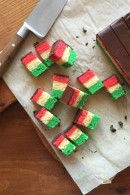 Italian Rainbow Cookies | get the recipe at www.injennieskitchen.com