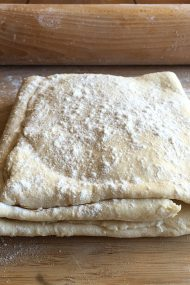 DIY Light Rough Puff Pastry | recipe at www.injennieskitchen.com